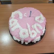 Naša prva torta – hvala našoj najdražoj učenici Mary